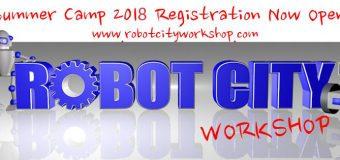 RobotCity Workshop Summer Camps