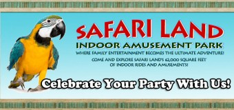 Safari Land Party Celebrations In Villa Park