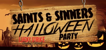 Saints and Sinners Halloween Party at Lucky Strike Chicago