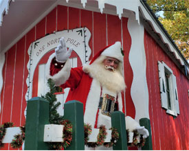 Santas Village Santa Claus Visits