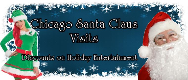 Chicago Santa Claus Visits & Holiday Entertainment