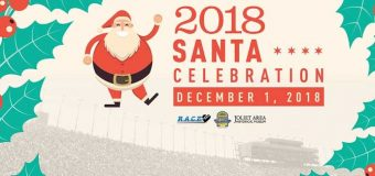 Santa Celebration and 5k in Joliet at Chicagoland Speedway