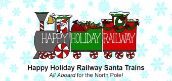 Happy Holiday Railway Santa Trains!