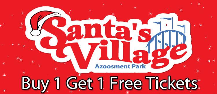 Santa's Village Discount Tickets Buy 1 Get 1 50% Off