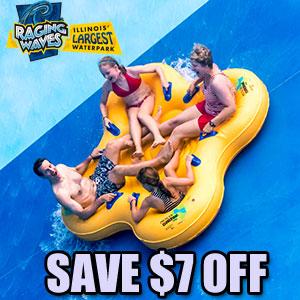 Raging waves waterpark discount tickets