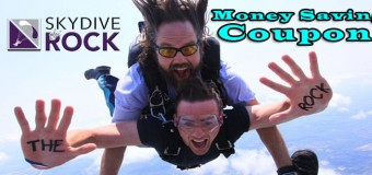 Skydive The Rock Beloit Wisconsin Coupon