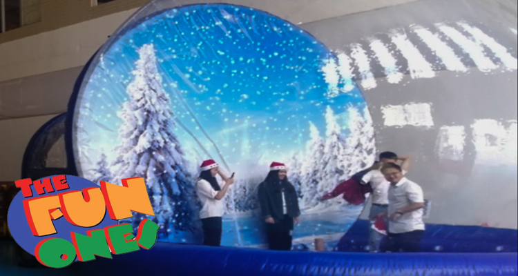 The Fun Ones! Giant Snow Globe Rentals Coupon