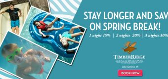 Timber Ridge Lodge & Waterpark Stay Longer And Save Package!