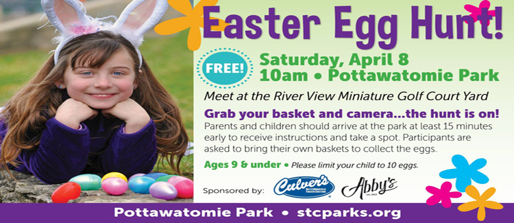 Eggstra! Eggstra! Read All About It! St. Charles Park District Annual Easter Egg Hunt