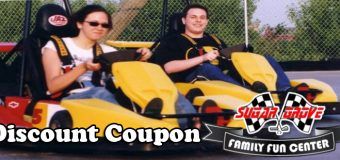 Sugar Grove Family Fun Center Birthday Party Coupon