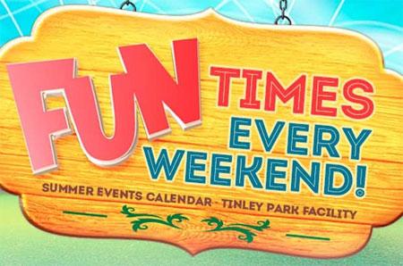 Odyssey Fun World Summer Events