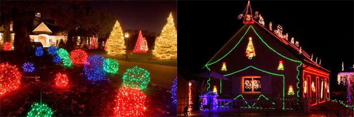Christmas Holiday Light Installation Chicago & Suburbs