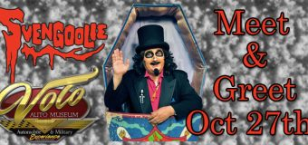 Svengoolie Visits Volo Auto Museum on October 27, 2018