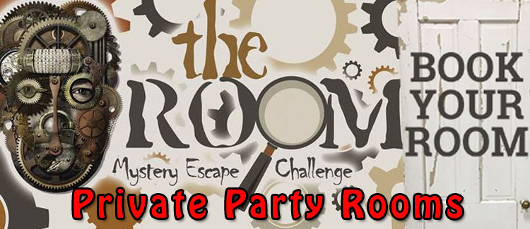 The Room Mystery Escape Challenge – Private Party Rooms