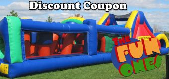 The Fun Ones Equipment Rental Coupon
