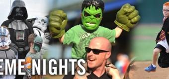 2015 Kane County Cougars Theme Nights