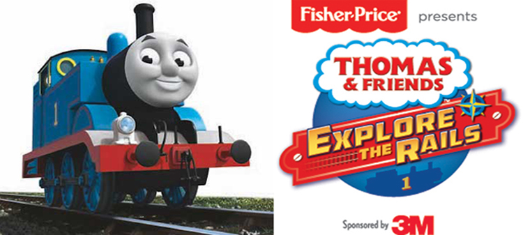 Thomas & Friends™: Explore the Rails! at Discovery Center Museum