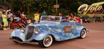 Parade of Disney Vehicles at Volo Museum