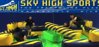 "Experience ""WipeOut"" At Sky High Sports Naperville"