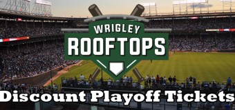Rooftop Tickets to 2016 Cubs Playoff Games
