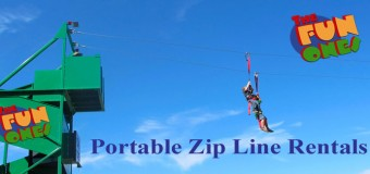 The Fun Ones Inflatable Zip Line Rental Coupon