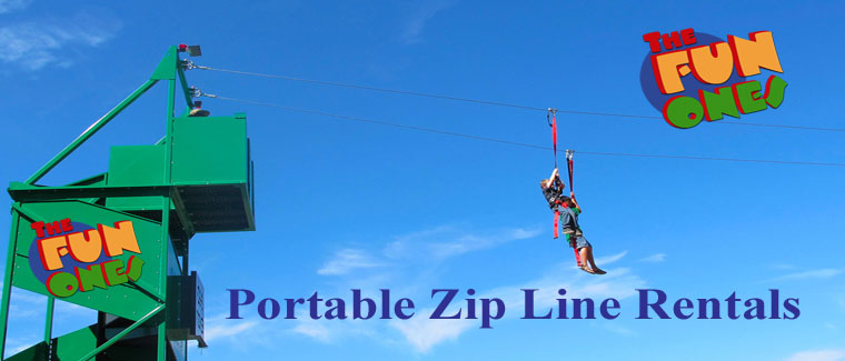 The Fun Ones Mobile Zip Line Rental Coupon